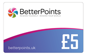 £5 BetterPoints Card