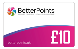 £10 BetterPoints Card